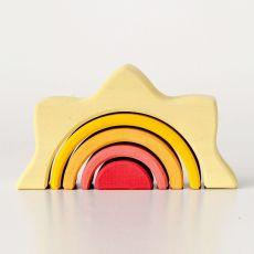 Sun arch stacker