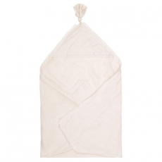 Muslin baby wrap blanket, Light rose