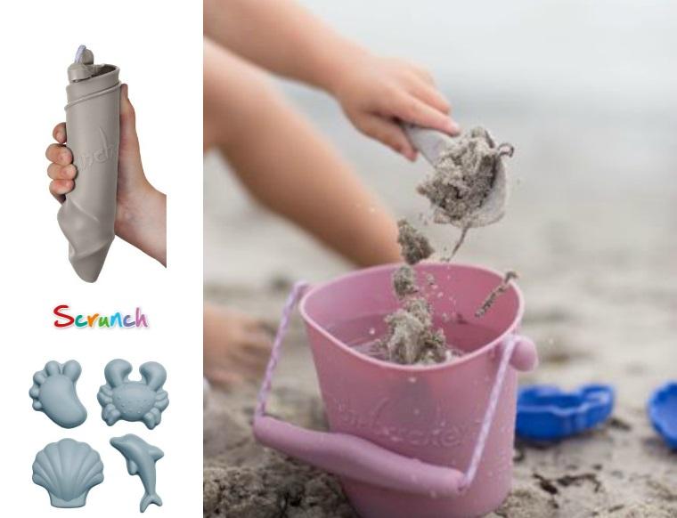 Scrunch hiekkalelut